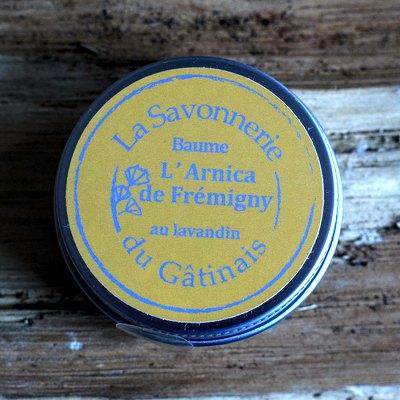 baume l'arnica de Frémigny au lavandin